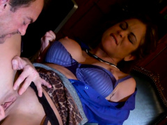 Big Tits Latina MILF Hunter Bryce Gets Naughty in the Office