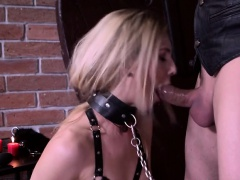 Teen On A Leash Alecia Fox Enjoys Anal And Facial