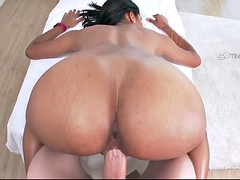 exotic princess katalina mills is greased up and fucked by huge dong