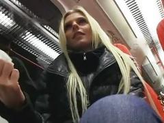 Blondie amateur Katka paid and drilled
