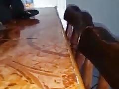 Fazendo cunete caprichado