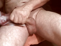 Tribute for M's peehole - Sarah's cunt gets cum