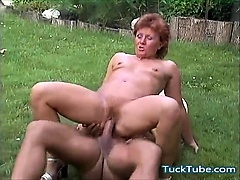 Mature Outdoor Hardcore sex