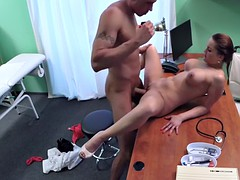 Nurse wanked cock of patient
