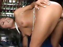 Filipina babe 'Kaylani' loves a white cock inside her cunt