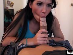 Rebeca Linares enjoys a hard staff