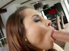Aurelly Rebel gets anal sex Perfect Gonzo style by Ass