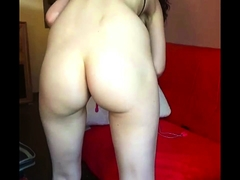 Solo brunett masturbation