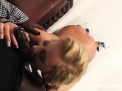 Busty German MILF Stella Styles wrecked by a BBC