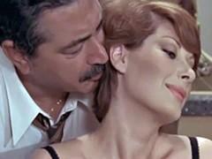 Retro real scenes with some awakened erotic couples