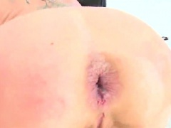 Ravishing sex kitten reveals big booty and gets butt hole po