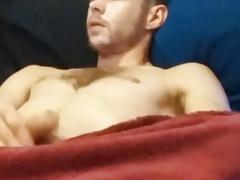 me masturbating,  soft dick to rock hard with cumshot