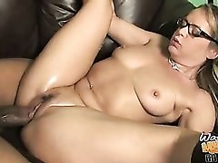 Slutty mom in boots nailed