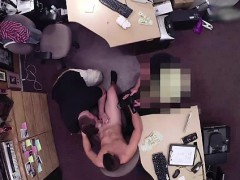 Naked amateur takes gay cash for blowjob on camera