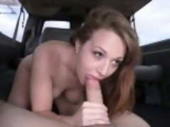 Horny cute chick Montana Joleigh loves a meaty cock