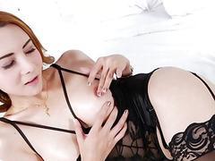 TS Maria X masturbating
