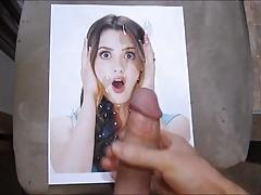 Laura Marano Cum Tribute 06