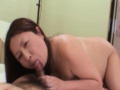 Miyoko Nagase - Chubby JAV Mature Having Sex With A Stranger