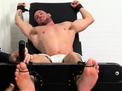 Men feet movies gay Casey More Jerked & Tickled