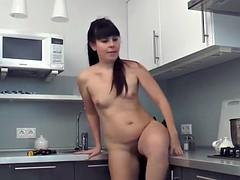 Malavi mature gets down and dirty in the kitchen