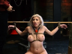 Big belly fetish Big-breasted blond hottie Cristi Ann is