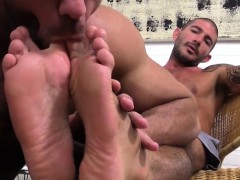 Hairy Ricky loves and adores tattooed Johnny