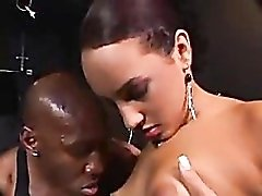 Black dick is big inside Victoria Allure