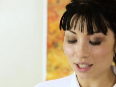 Asian Rina Ellis fucks Tommys huge stud