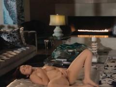Sweet pussy tease in art movie