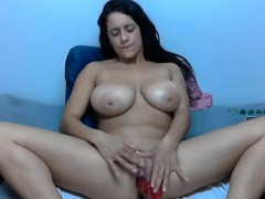 Massive boobs splatter toes everyt Hazel from 1fuckdatecom