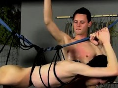 Naked bondage men gay first time Jerked And Drained Of Semen