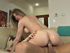 amazing sex with the horny blonde shemale angelina torres