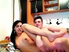 Horny Couple Banging Live