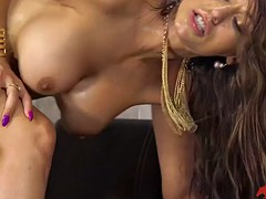 big cocked mate fucks reena sky in her mouth and hairy vag
