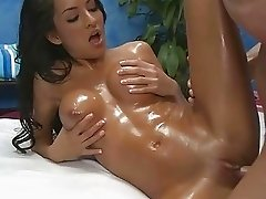 Naughty hot babe fucks