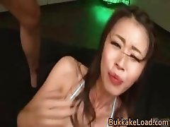 Gangbanged by Several Guys Marika Takes part2