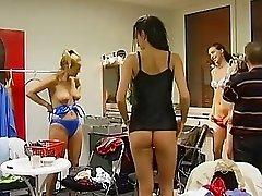 German changing room footage