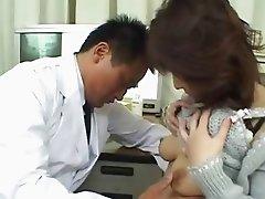 asian doctor and asian bum