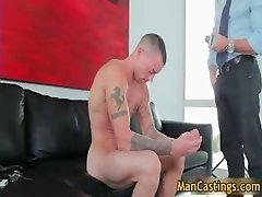 Cute face stud Steven blows hard penis part3
