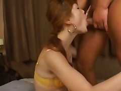 stripping and deep asian anal fucking