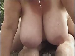 French Mature Milf sucks 4