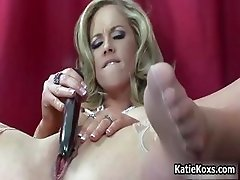 Blonde pornstar with big tits reaches part5