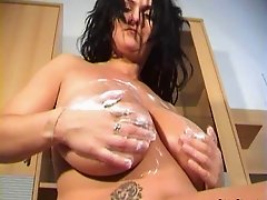 Topping cream messing